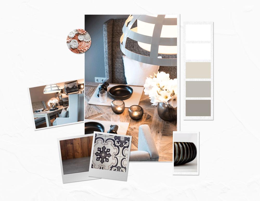Farbkonzept Wohnung erstellen Farben Material Raum